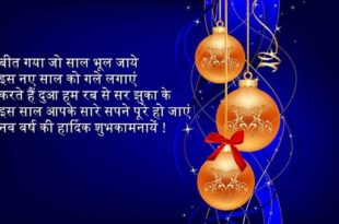 Happy New Year Shayari, New Year Wishes in Hindi