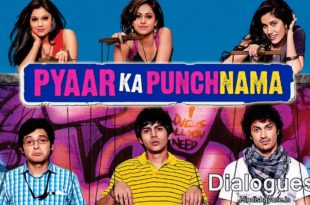 Pyaar Ka Punchnama Hindi Movie Dialogues