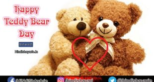 Happy Teddy Day Hindi Shayari, SMS, Teddy Day Wishes
